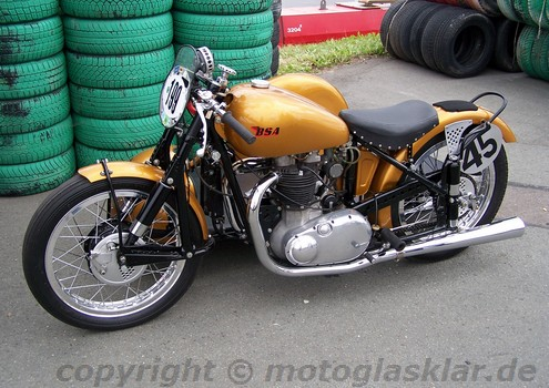 BSA Golden Flash 1952