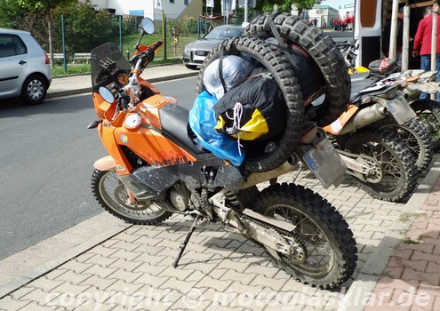 KTM Adventure Travelbike