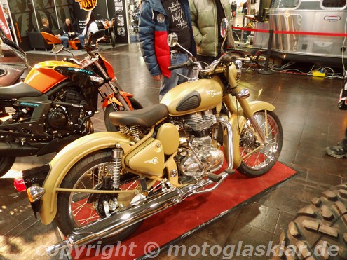 Royal Enfield Classic 500 im Retro Style