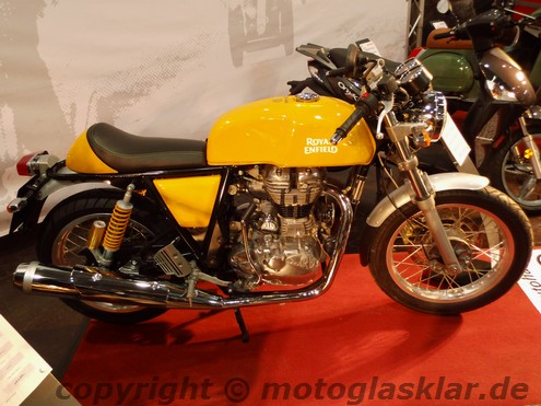 Royal Enfield Continental Naked Retro Style